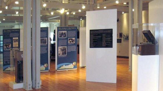 Temporary museum exhibit