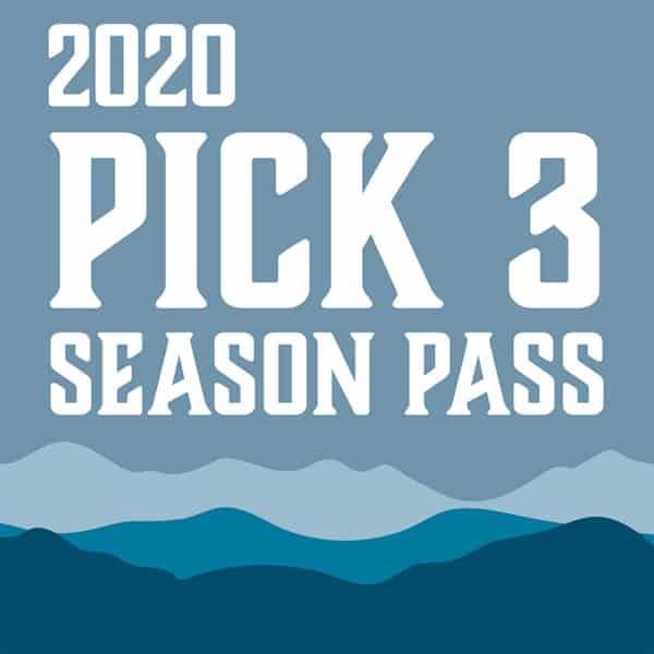 2020 Blue Ridge Music Center Pick 3 Season Pass