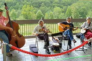 Fisher Peak Timber Rattlers playing music