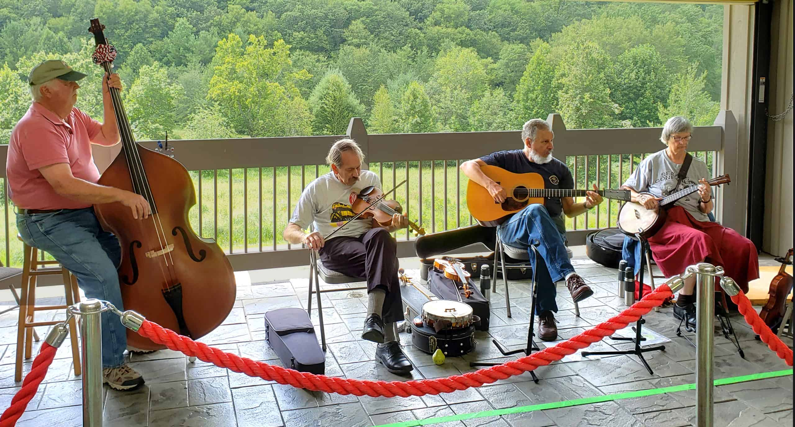 Fisher Peak Timber Rattlers playing music