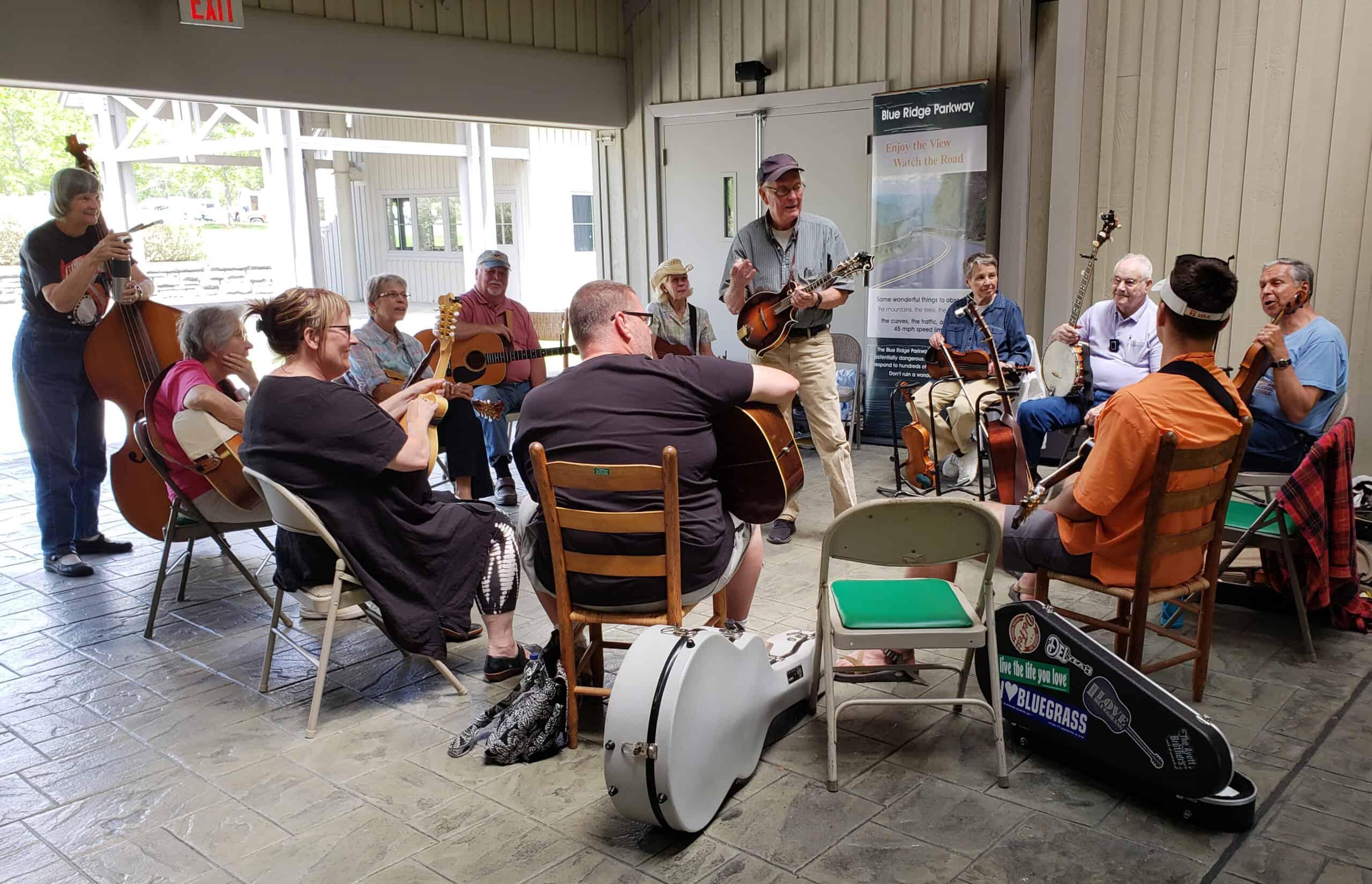 Bluegrass Jam with Jim and Lynn